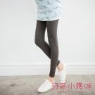 日系小媽咪孕婦裝-孕婦褲~褲管鈕釦造型內搭褲 M-L (共三色)