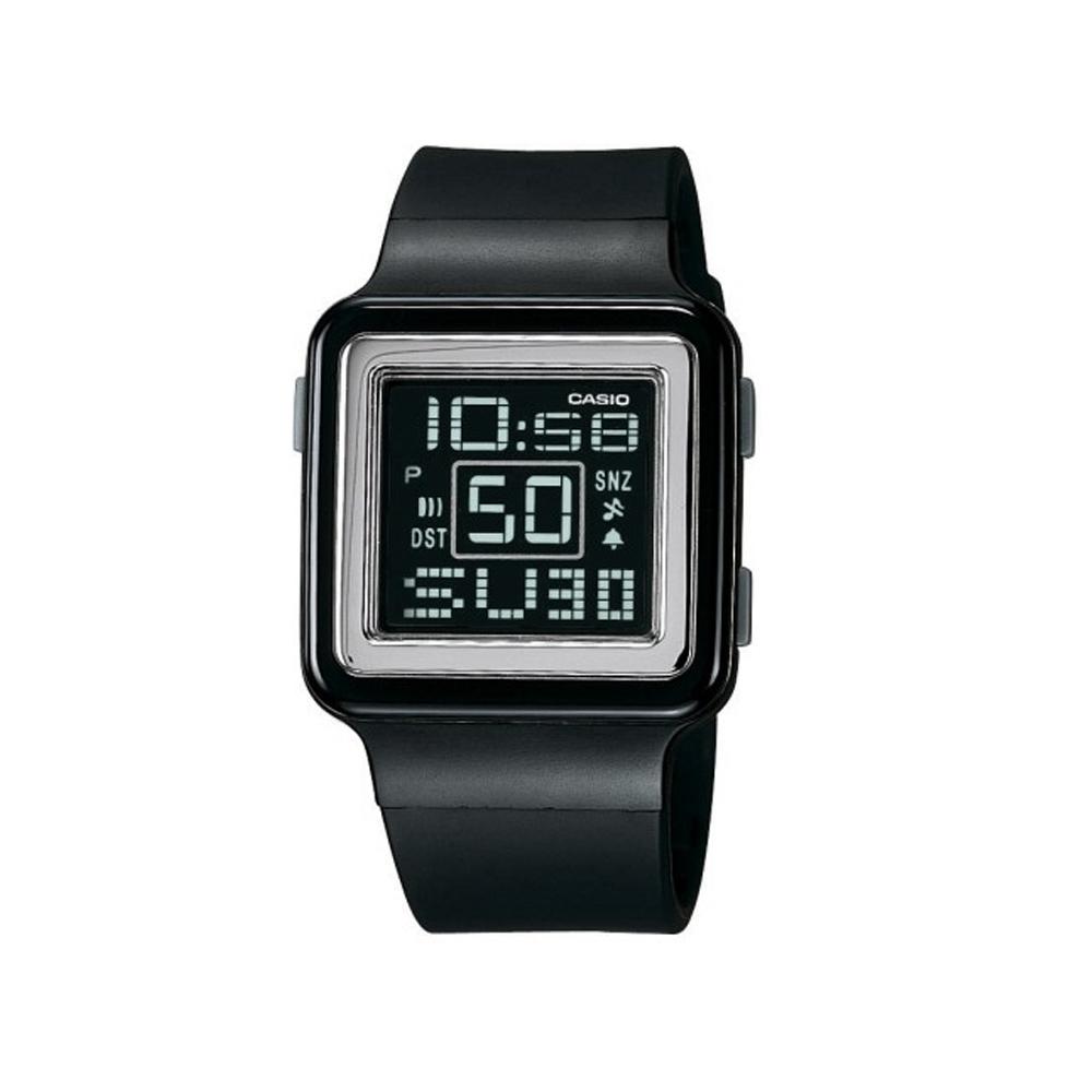 CASIO Poptone 棉花糖彩衣錶(LDF-20-1A)-黑/32.8mm