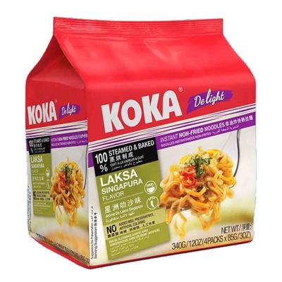 KOKA 非油炸星洲叻沙味拉麵(85gx4入)