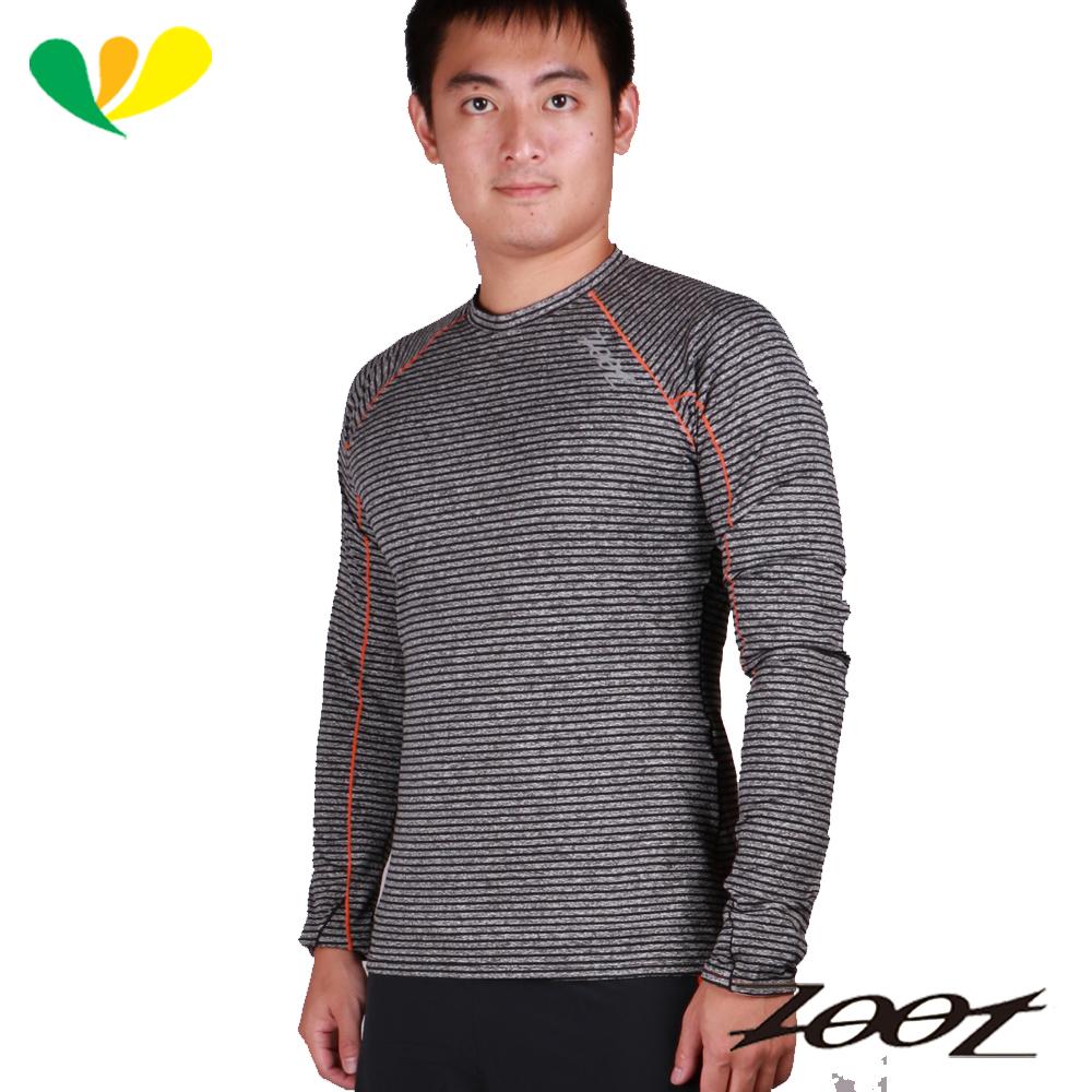 ZOOT頂級極致型輕肌能壓縮壓縮上衣(男)(雅灰/酷橘)Z1504054-