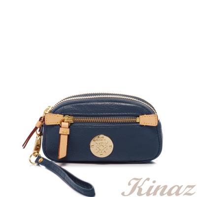 KINAZ - Snow white白雪壞公主系列~蘋果誘惑零錢包 - 夜空藍