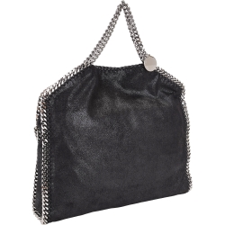 Stella McCartney Falabella Shaggy 鍊帶兩用包(黑色)