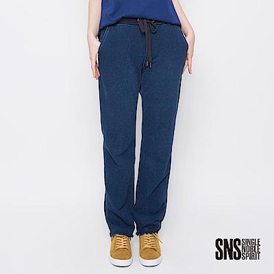 SNS 經典美式率性寬鬆休閒牛仔褲(1色)