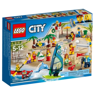 LEGO樂高 城市系列 60153 沙灘人偶套組