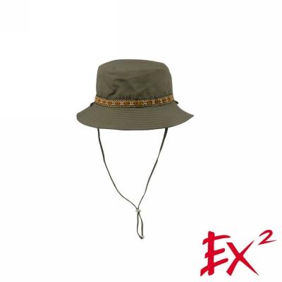 德國EX2 雙面漁夫帽(橄欖綠)