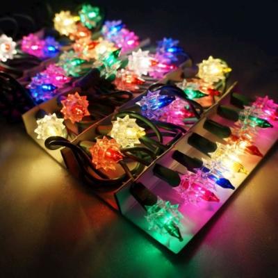 聖誕燈-鑽石燈串 ( 35 燈)(鎢絲燈)(可搭聖誕樹)
