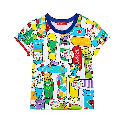 WHY AND 1/2 棉質萊卡T恤 11Y~12Y