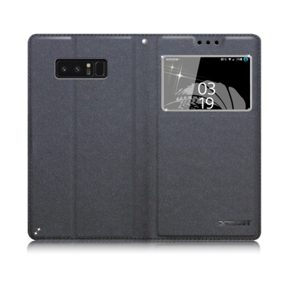 XM Samsung Galaxy Note 8 宇宙之星視窗支架皮套