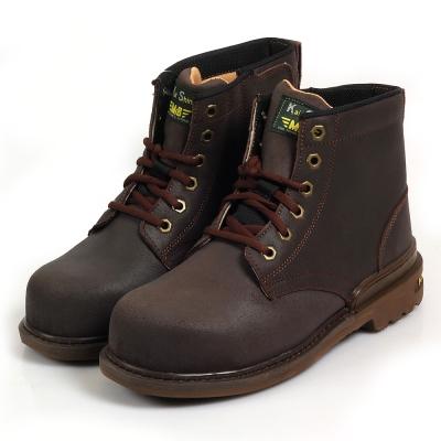 Kai Shin 高筒安全工作鞋 深咖啡色