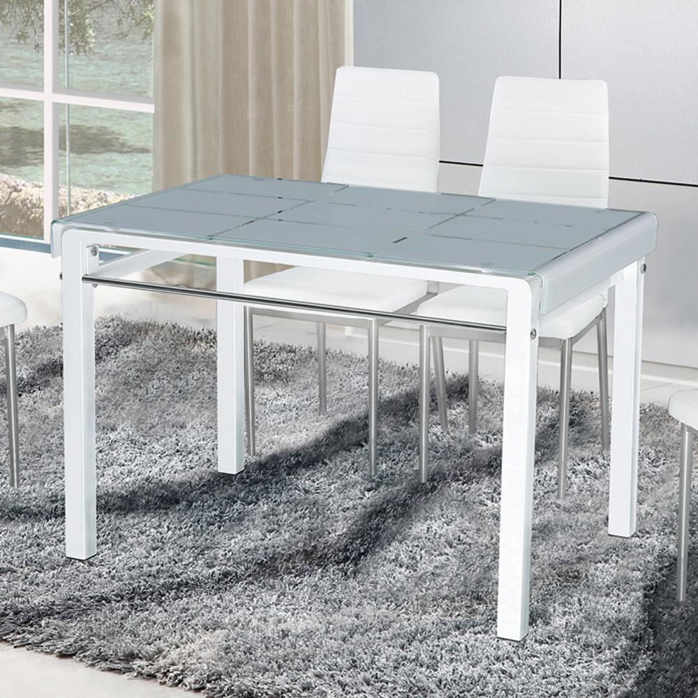 AT HOME-馬可3.6尺白色長方桌
