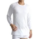 BVD 日本精紡交撚紗系列 圓領8分袖上衣(白色) M/L