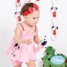 Disney Baby 甜心米妮細肩帶印圖套裝 粉紅