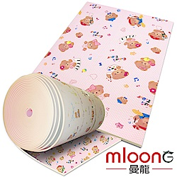 Mloong曼龍 客製化XPE環保爬行墊/地墊 曼龍熊 (每10公分計價)