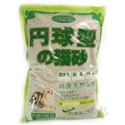 日本丹球型貓砂(粗)5L 3入