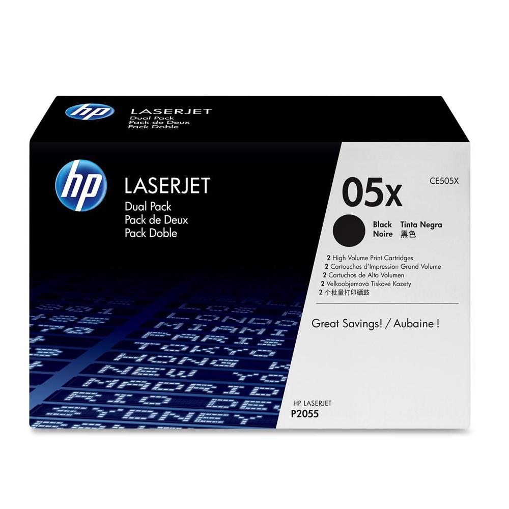 HP CE505X 原廠黑色高容量碳匣