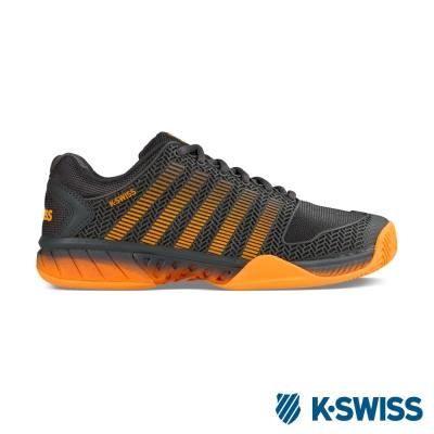 K-Swiss Hypercourt Express輕量網球鞋-男-鐵灰/橘
