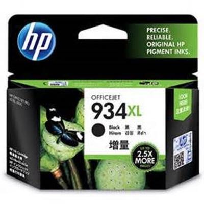HP C2P23AA  #934XL 黑色高容量墨水匣