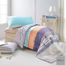 FET&co.寢飾 蔚藍海灘天絲涼被+枕套三件組