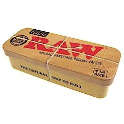 RAW 西班牙進口-CADDY-金屬錫製收納盒(煙盒/捲煙紙盒)