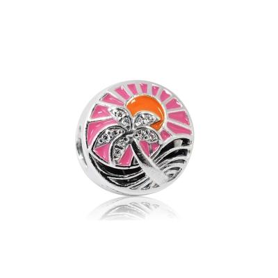 Pandora 潘朵拉 魅力日落琺瑯 純銀墜飾 串珠