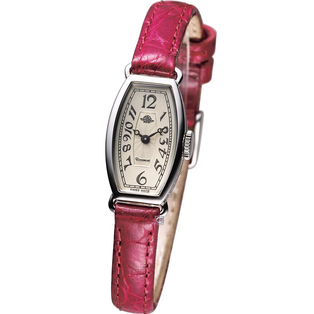 Rosemont 玫瑰公主 時尚古典錶-紅/14mm
