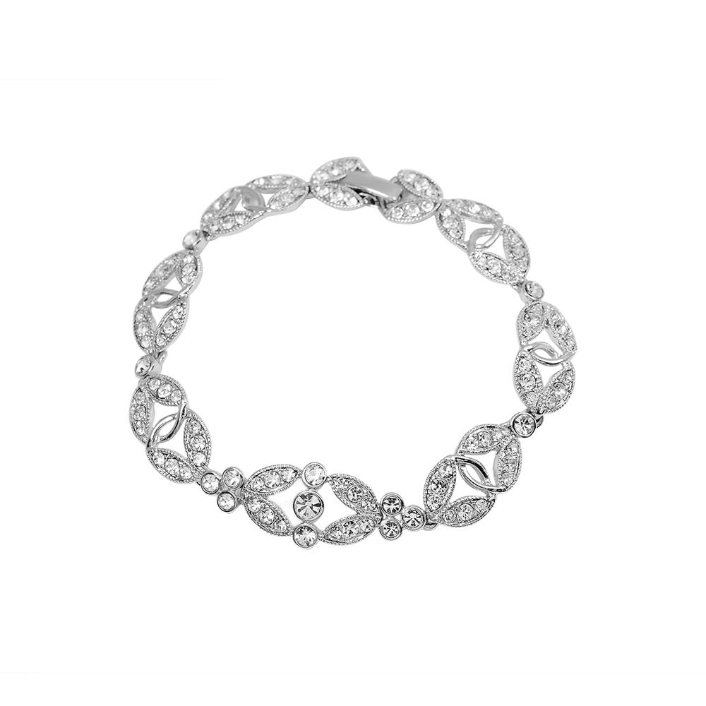CAROLEE 歐美品牌 閃耀環繞晶鑽造型手鍊