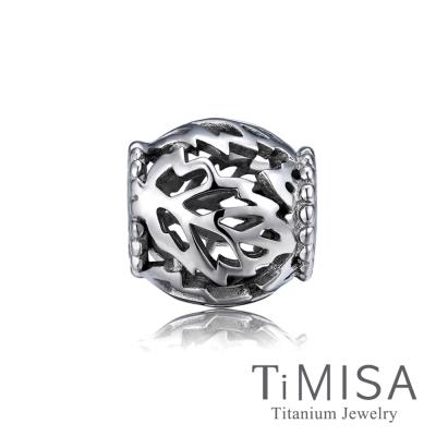 TiMISA 繁葉 純鈦飾品 串珠