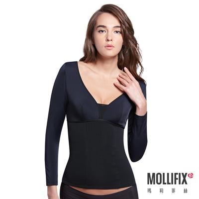 Mollifix 極暖抗寒BABY絨塑身衣 (黑)