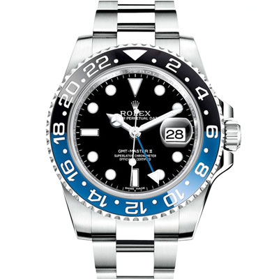 ROLEX 勞力士 116710 BLNR GMT-MASTER II 藍圈腕錶-40mm