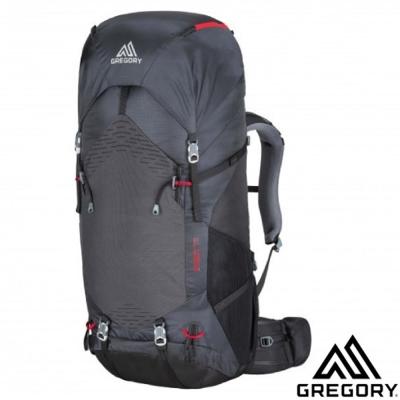 【美國 GREGORY】新款 STOUT 75 專業健行登山背包_附全罩式防雨罩/煤灰