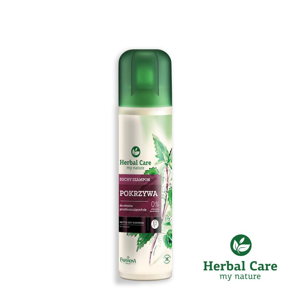 波蘭Herbal Care蕁麻草本清爽乾洗髮噴劑(油性髮質/調節皮脂腺用)150ml