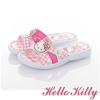 HelloKitty 輕量減壓休閒拖鞋童鞋-粉