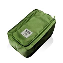 旅行首選 防水鞋盒 鞋子收納袋(芥末綠)