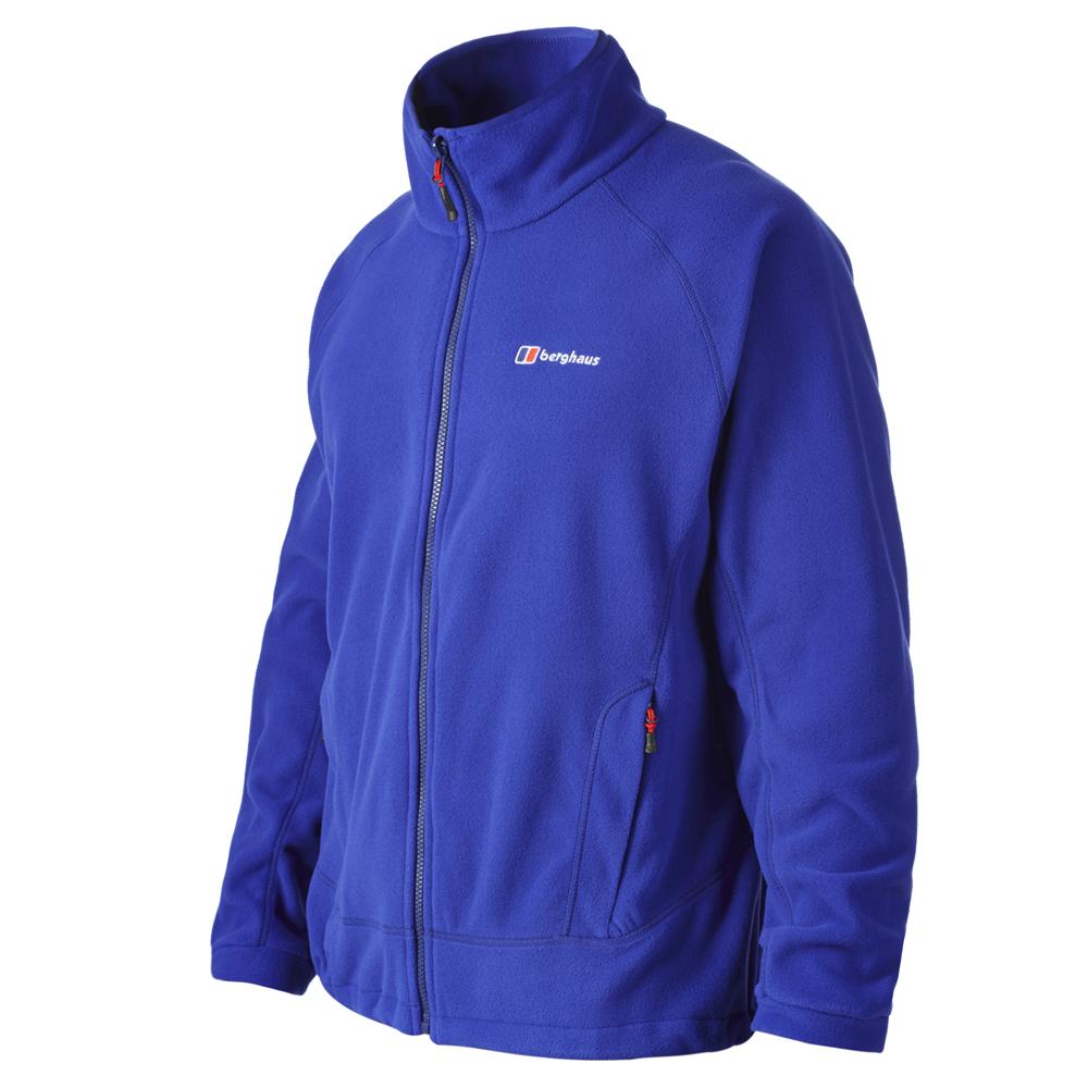 【Berghaus貝豪斯】男款刷毛保暖 IA外套H22M19-淺藍