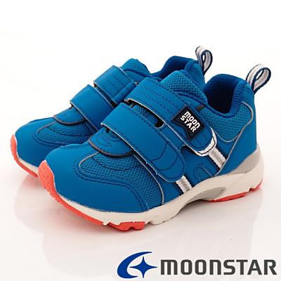 日本Carrot機能童鞋-3E公園鞋-TW1697藍(中小童段)HN