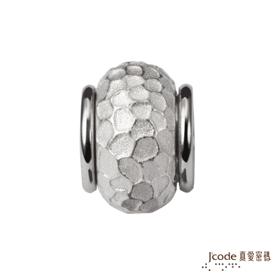 J code真愛密碼銀飾 悄悄說愛你純銀串珠