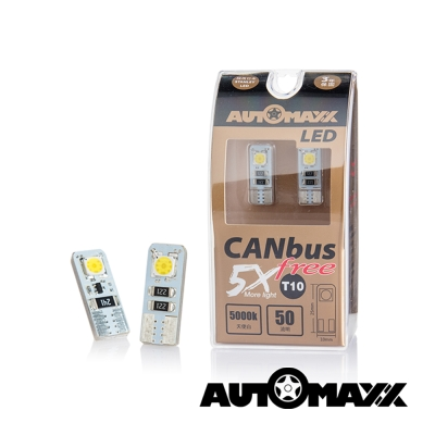 AUTOMAXX DP-4L85 天使白 CANBUS FREE T10 LED小燈