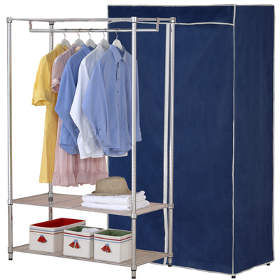 克諾斯 120*45*180三層防塵衣櫥架
