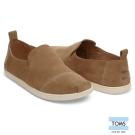 TOMS 麂皮素面懶人鞋-男款