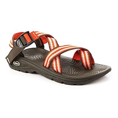 美國Chaco。女 冒險旅遊涼鞋-夾腳款CH-EZW02HC55 (火紅鮮橘)