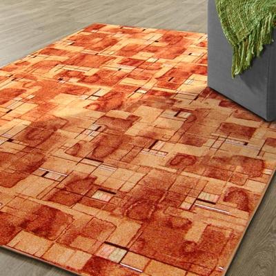 范登伯格 - 朝暘 進口地毯-星辰 (橘) (小款-100x150cm)