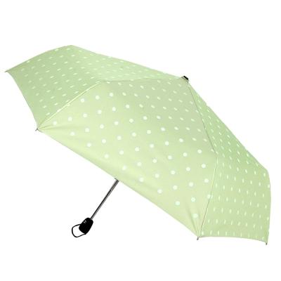 2mm 粉彩泡泡糖 銀膠自動開收傘 (淺綠)_快速到貨