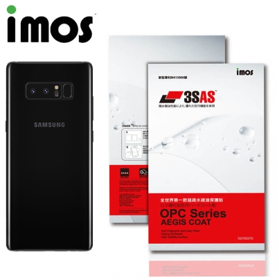 iMos SAMSUNG Galaxy Note 8 3SAS 疏油疏水 背面保...
