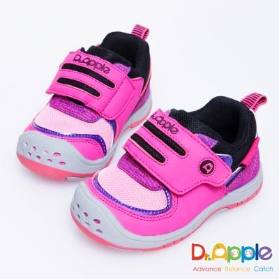 Dr. Apple 機能童鞋 夢幻童話故事跳色閃亮小童鞋款 粉