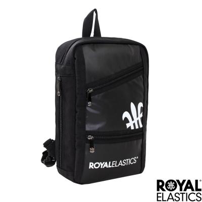 Royal Elastics - 運動可變形單肩/後背包 - Challenge挑戰系列 -黑色