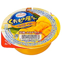 達樂美 水果屋果凍-黃桃芒果椰果口味(160g)