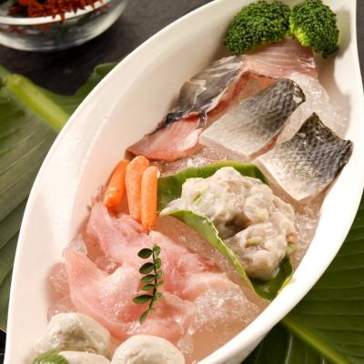 台江漁人港 魚漿2盒+虱目魚背鰭肉2盒+魚肚2盒