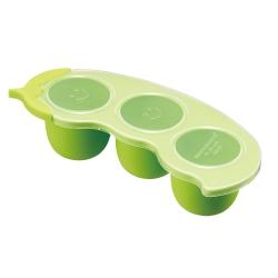 奇哥 PUP 副食品儲存盒-豌豆(60mlx3格)