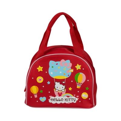 Sanrio HELLO KITTY便當袋(繽紛熱氣球)