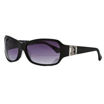 PLAYBOY-時尚太陽眼鏡-黑色-PB83015